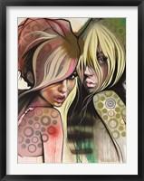 Framed Two Betties