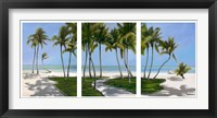 Framed Islamarada Triptych