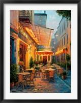 Framed Cafe Van Gogh 2008, Arles France