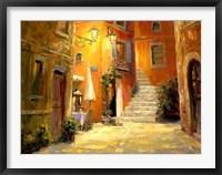 Framed Lighted Alley