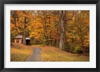 Framed Autumn Home