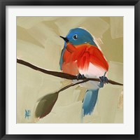 Framed Bluebird No. 21