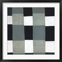 Framed Gray Plaid 1