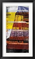 Framed New York Sky III