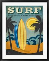 Framed Surf Malibu
