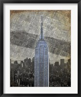 New York Empire State Building II Framed Print