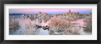 Framed Mono Lake Sunset