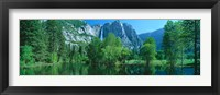 Framed Yosemite Falls & Merced