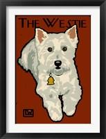 Framed Westie