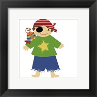 Pirate Parrot Framed Print