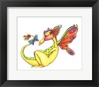 Framed Cheerful - Dragon 10