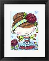 Framed Ranunculus Fairy