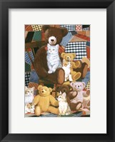 Framed Teddy's And Friends