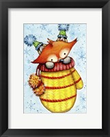 Warm and Snuggly Framed Print