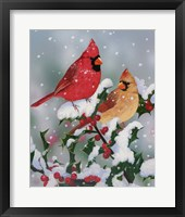 Framed Winter Companions