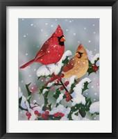 Framed Winter Companions