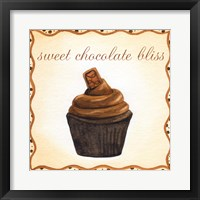 Framed Chocolate Cupcake