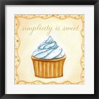 Framed Vanilla Cupcake