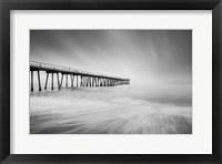 Framed Hermosa Pier 2-2