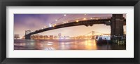 Framed Brooklin Bridge Pano 1