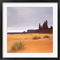 Framed Monument Valley Panorama 1 2 of 3