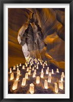 Candle Canyon I Framed Print