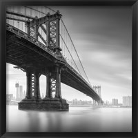 Framed Manhattan Bridge 1