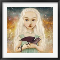 The Dragon Princess Framed Print