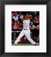 Framed Joey Votto batting 2014