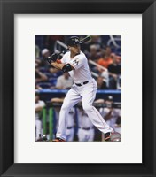 Framed Giancarlo Stanton 2014 Action