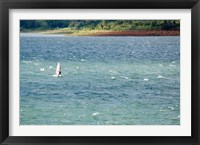 Framed Wind surfer in a lake, Arenal Lake, Guanacaste, Costa Rica