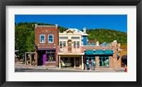 Framed Buildings along Main Street, Park City, Utah