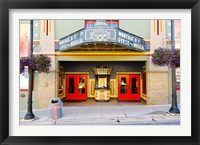 Framed Facade of the Egyptian Theater, Main Street, Park City, Utah, USA