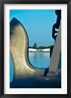 Framed Sculpture of an Anchor, USS Arizona Memorial, Pearl Harbor, Honolulu, Oahu, Hawaii