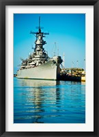 Framed USS Missouri, Pearl Harbor, Honolulu, Oahu, Hawaii