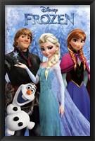 Framed Frozen - Group