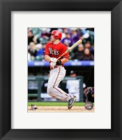 Framed Paul Goldschmidt 2014 Action