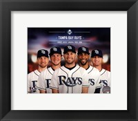 Framed Tampa Bay Rays 2014 Team Composite