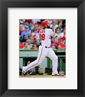 Framed Jayson Werth 2014 Action