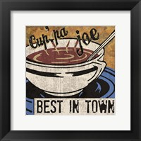 Best in Town Framed Print