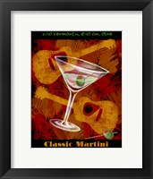 Framed Classic Martin