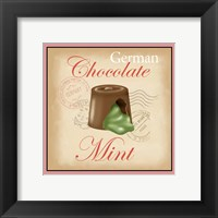 Framed German Chocolate Mint