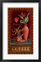 Framed Kona Coffee