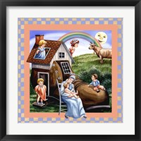 The Little Old Lady Who Lived In A Shoe Framed Print
