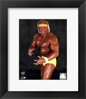 Framed Hulk Hogan
