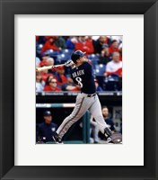 Framed Ryan Braun 2014 Action