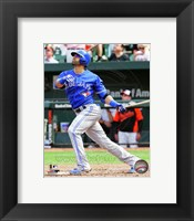 Framed Jose Bautista 2014 Action