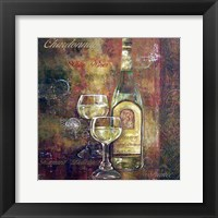 Framed Chardonnay Lettered