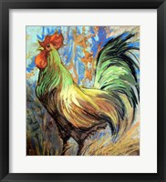 Framed Gentleman Rooster