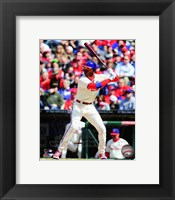 Framed Domonic Brown 2014